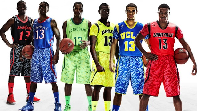 terrible adidas ncaa uniforms