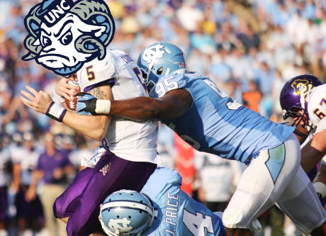 unc football vs rameses